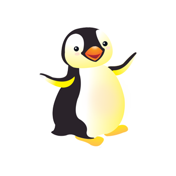 Happy Feet Nursery School Penguin